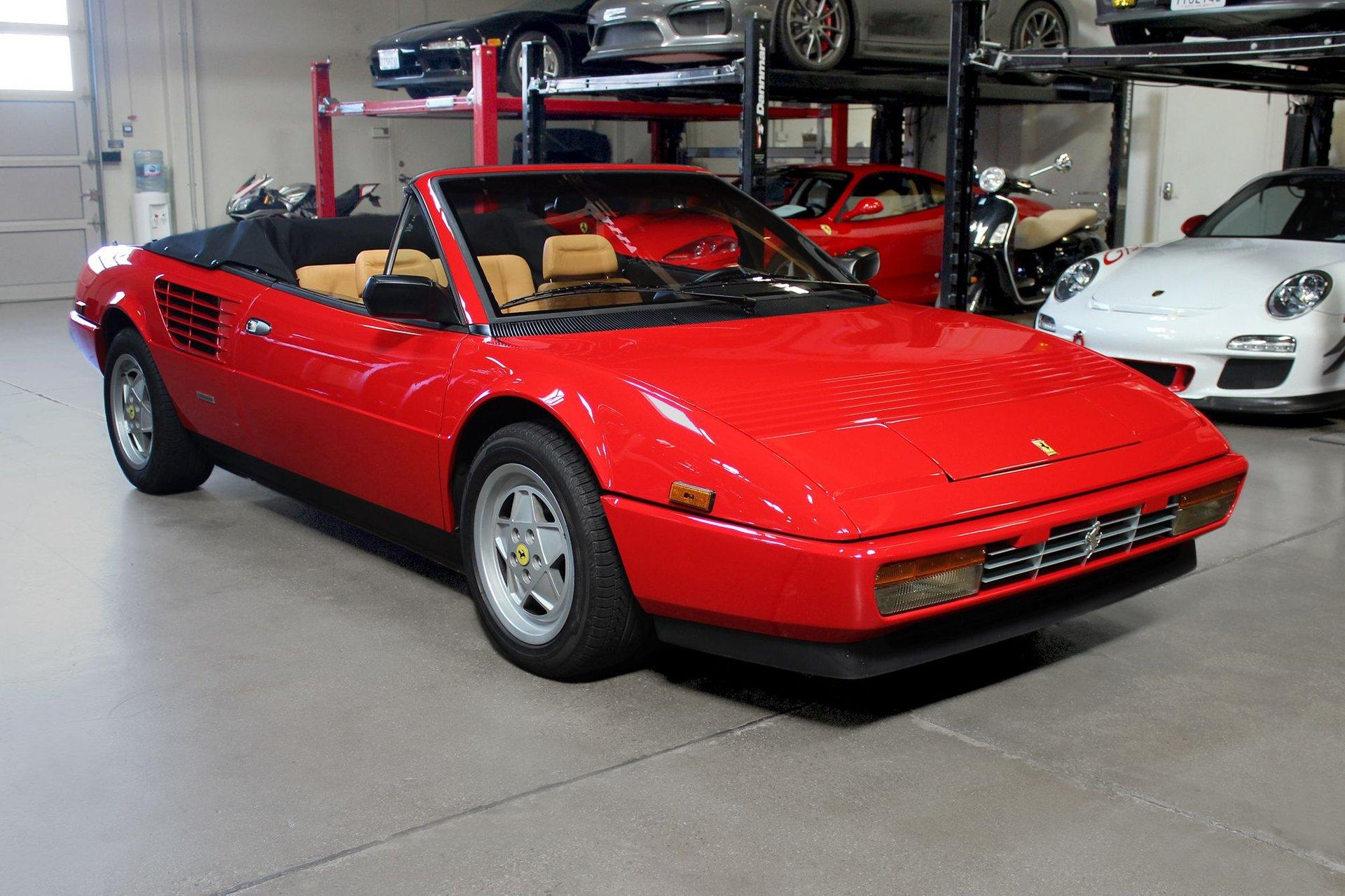 Used 1988 Ferrari Mondial for sale Sold at San Francisco Sports Cars in San Carlos CA 94070 1