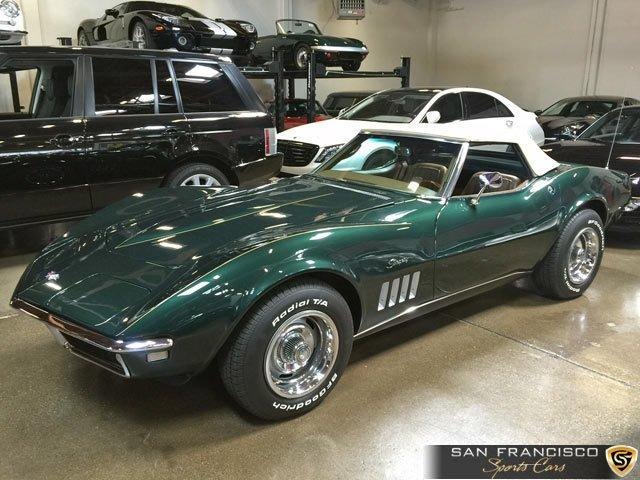 Used 1968 Chevrolet Corvette Convertible for sale Sold at San Francisco Sports Cars in San Carlos CA 94070 1