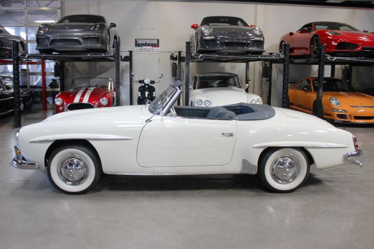 Used 1958 Mercedes-Benz 190SL Roadster for sale Sold at San Francisco Sports Cars in San Carlos CA 94070 4