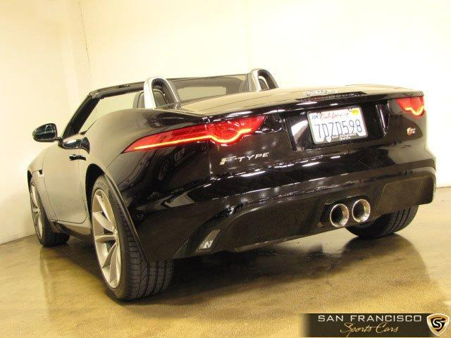 Used 2014 Jaguar F-Type V6 S for sale Sold at San Francisco Sports Cars in San Carlos CA 94070 4