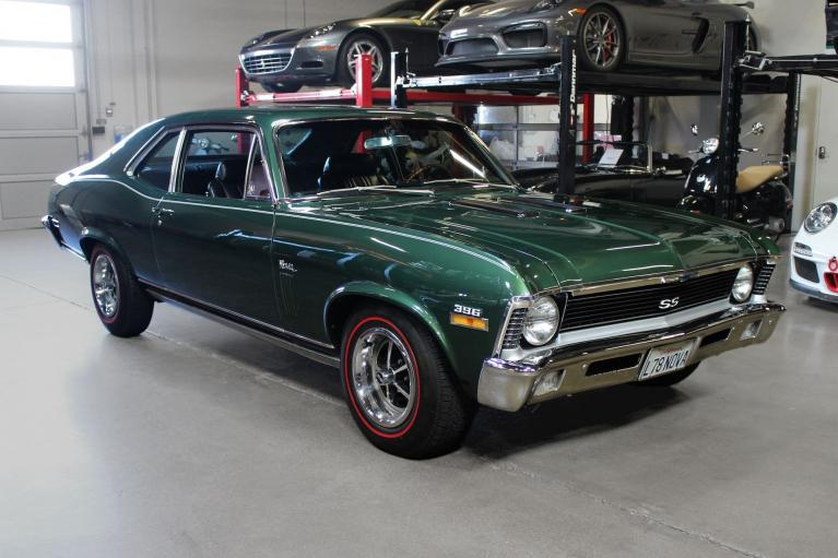 Used 1970 Chevrolet Nova L78 for sale Sold at San Francisco Sports Cars in San Carlos CA 94070 1