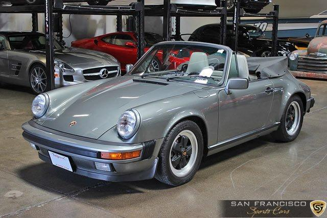 Used 1987 Porsche 911 Cabriolet for sale Sold at San Francisco Sports Cars in San Carlos CA 94070 2
