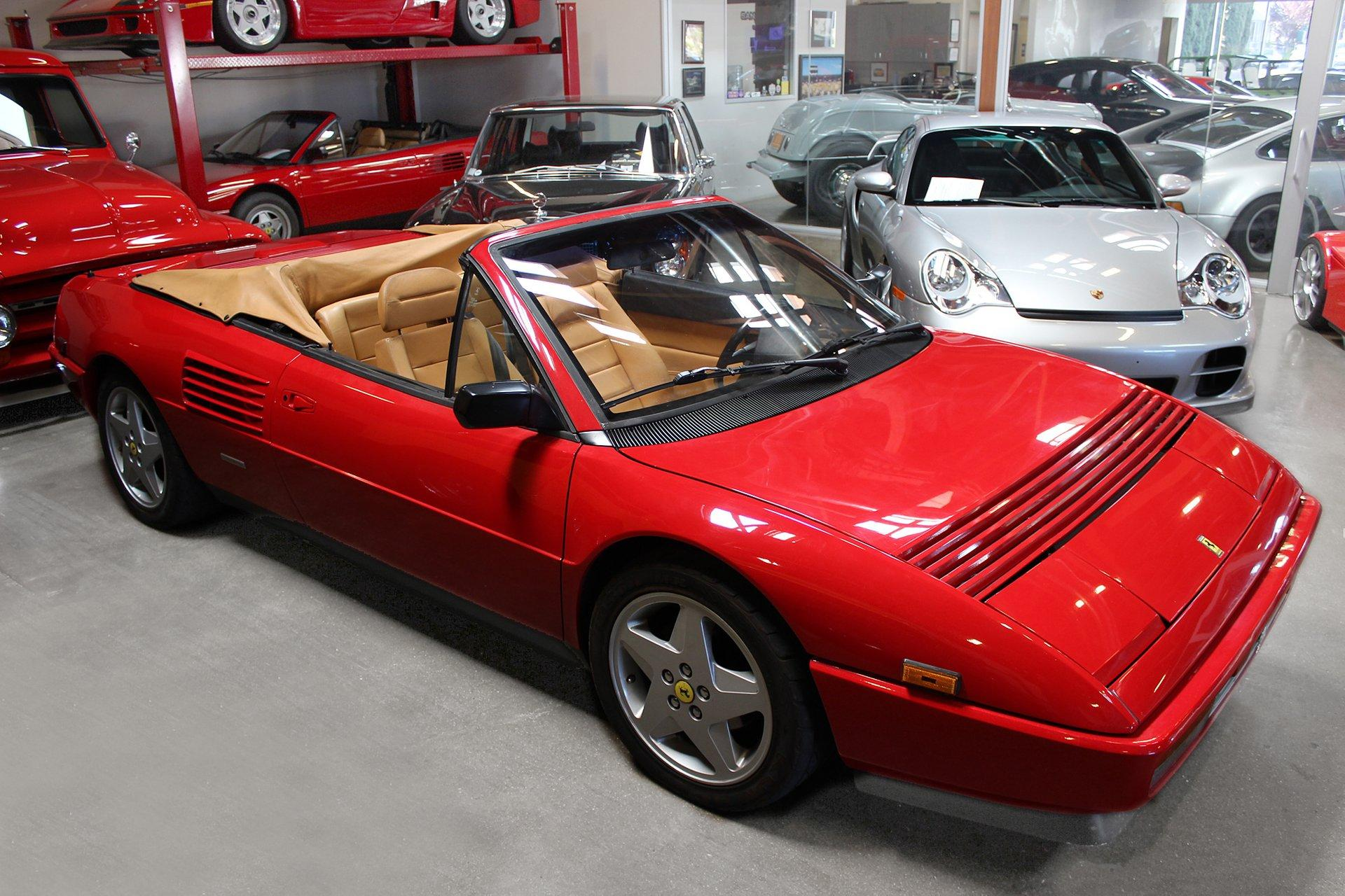 Used 1990 Ferrari Mondial T for sale Sold at San Francisco Sports Cars in San Carlos CA 94070 1