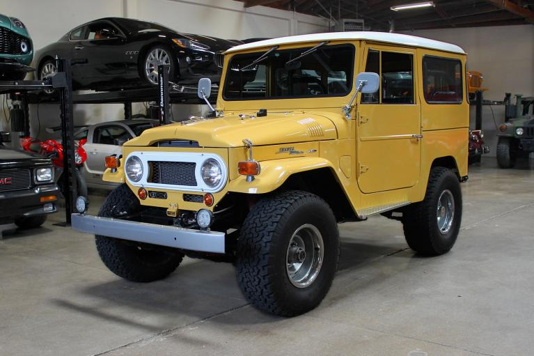 Used 1969 Toyota Land Cruiser for sale Sold at San Francisco Sports Cars in San Carlos CA 94070 3