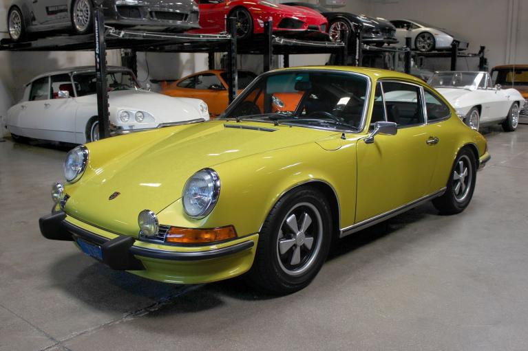 Used 1973 Porsche 911E for sale Sold at San Francisco Sports Cars in San Carlos CA 94070 3