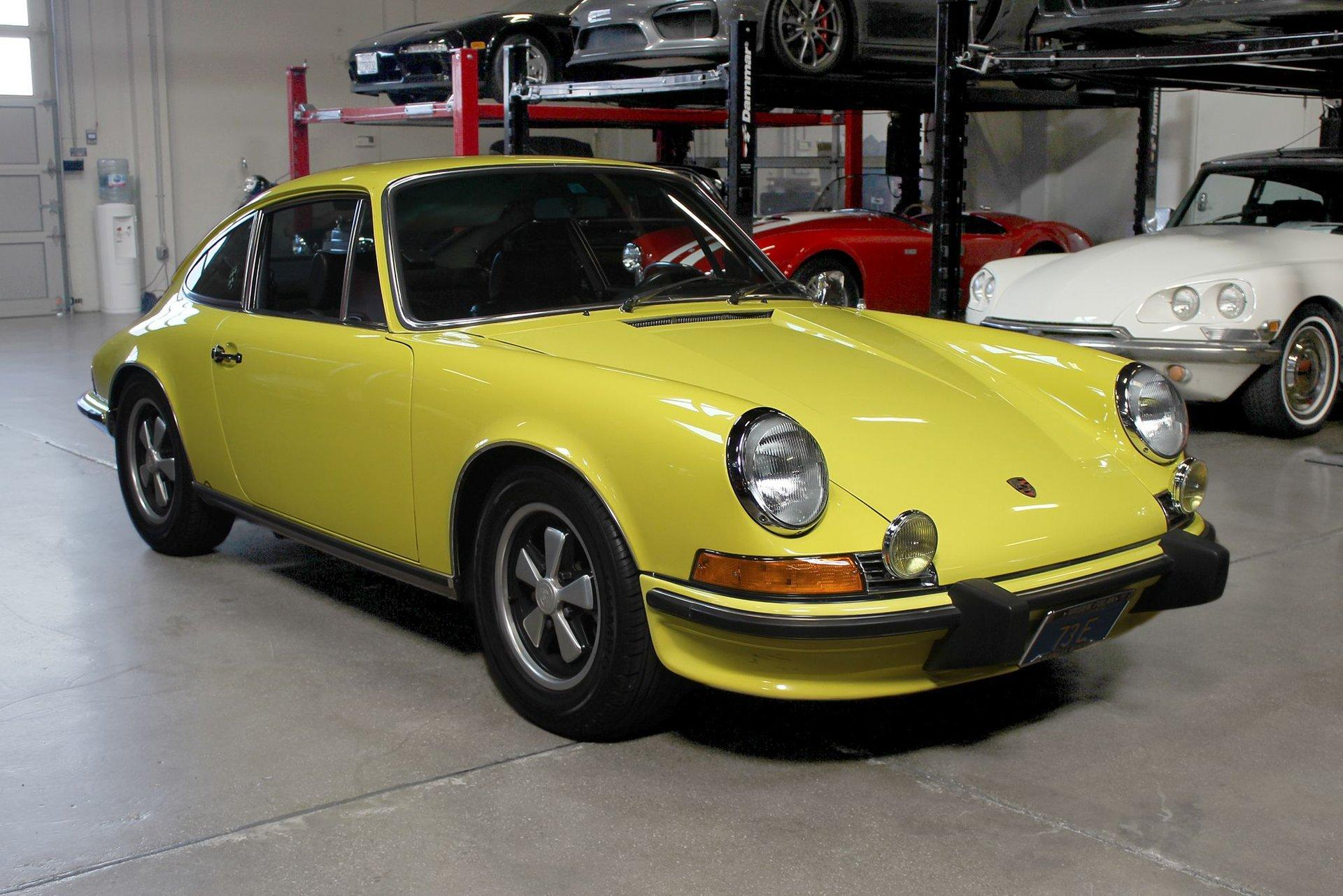Used 1973 Porsche 911E for sale Sold at San Francisco Sports Cars in San Carlos CA 94070 1