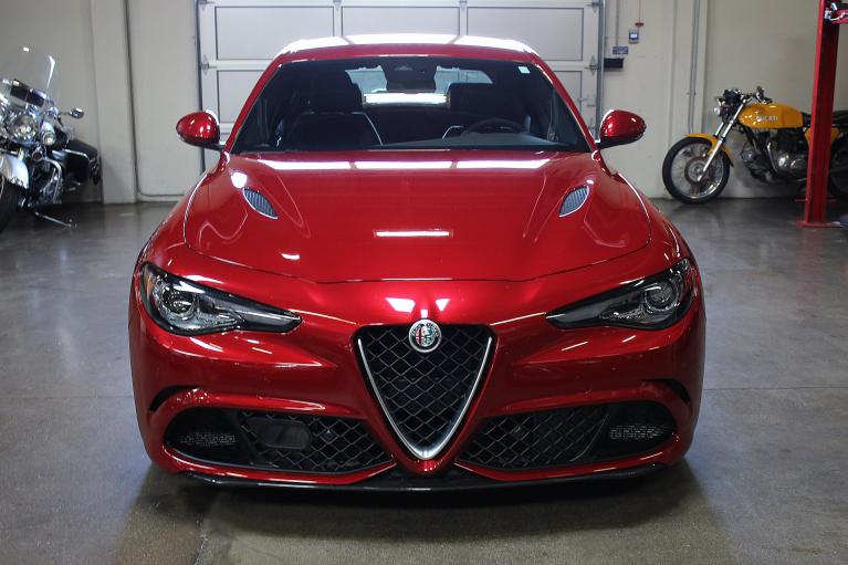 Used 2017 Alfa Romeo Giulia Quadrifoglio for sale Sold at San Francisco Sports Cars in San Carlos CA 94070 2
