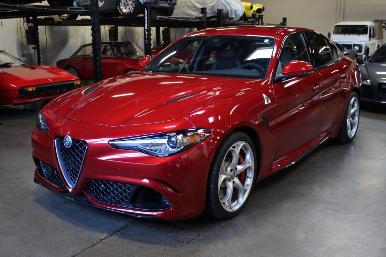 Used 2017 Alfa Romeo Giulia Quadrifoglio for sale Sold at San Francisco Sports Cars in San Carlos CA 94070 3