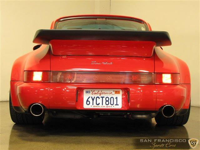 Used 1991 Porsche 911 Turbo for sale Sold at San Francisco Sports Cars in San Carlos CA 94070 4
