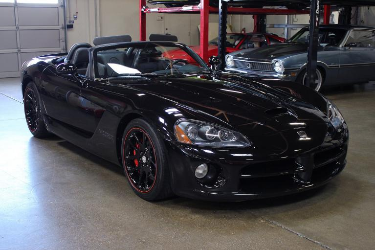 Used 2004 Dodge Viper for sale Sold at San Francisco Sports Cars in San Carlos CA 94070 1