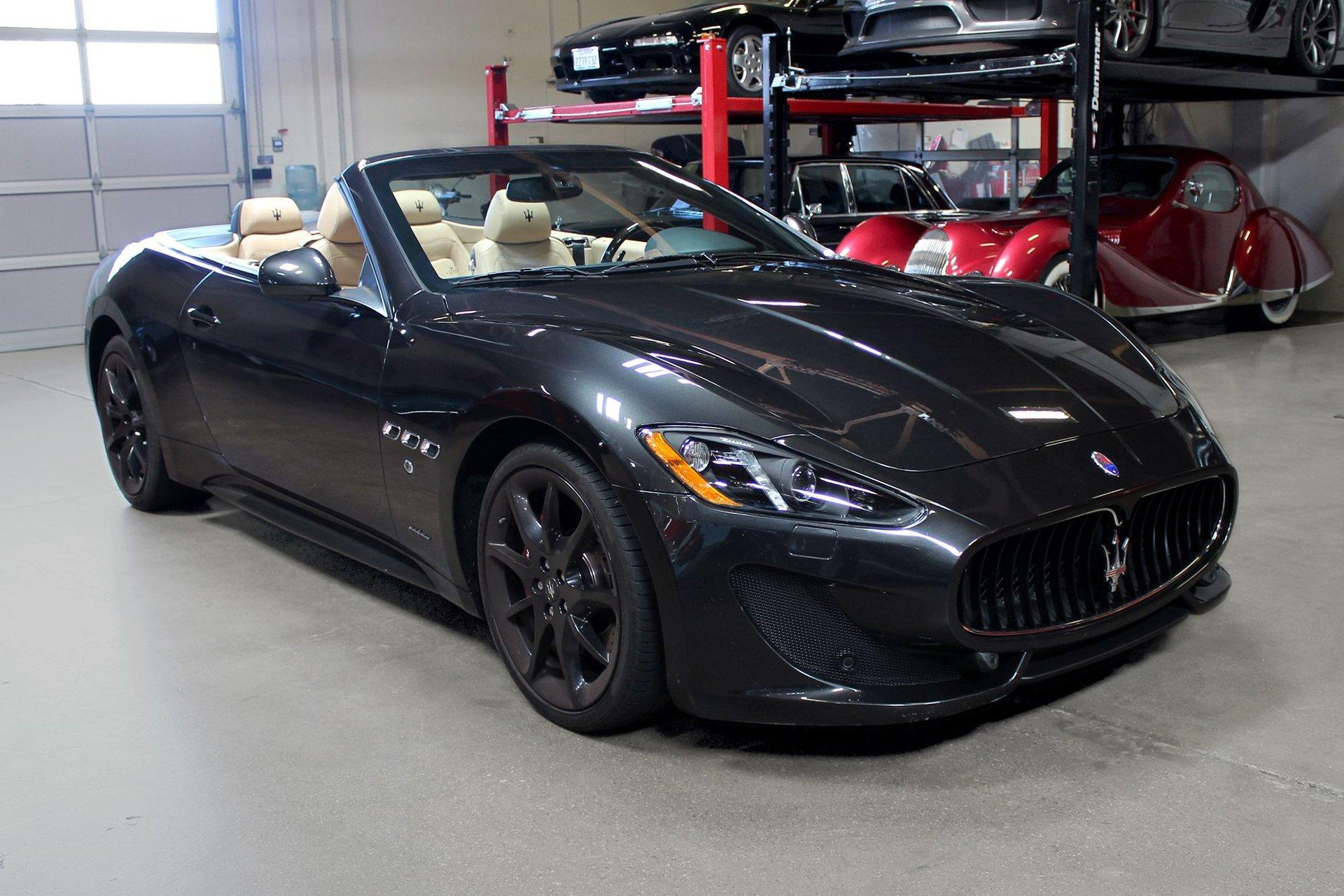 Used 2013 Maserati GranTurismo Sport for sale Sold at San Francisco Sports Cars in San Carlos CA 94070 1