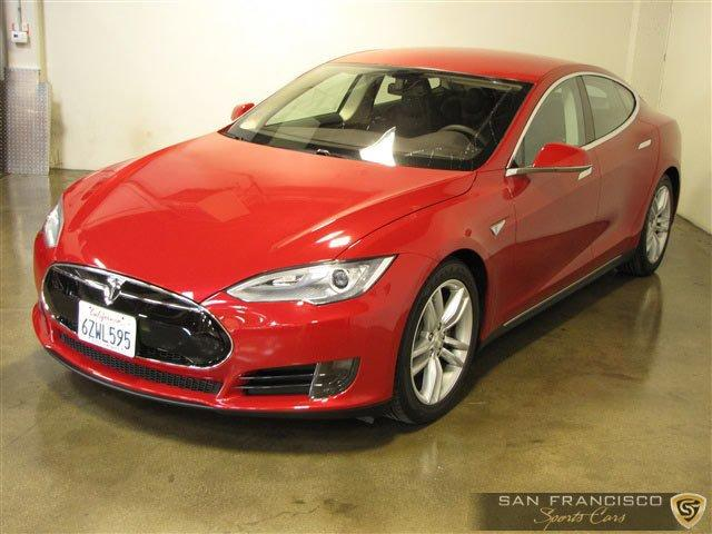 Used 2013 Tesla Model S for sale Sold at San Francisco Sports Cars in San Carlos CA 94070 2
