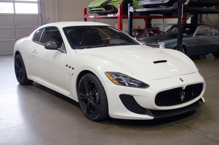 Used 2016 Maserati Granturismo MC for sale Sold at San Francisco Sports Cars in San Carlos CA 94070 1