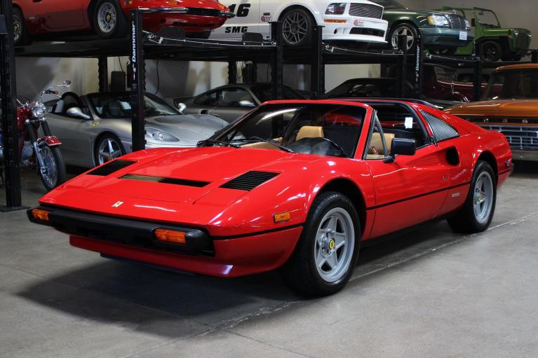 Used 1985 Ferrari 308 GTS for sale Sold at San Francisco Sports Cars in San Carlos CA 94070 3