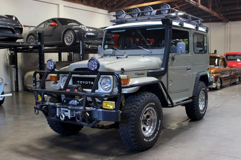 Used 1982 Toyota Land Cruiser for sale $44,995 at San Francisco Sports Cars in San Carlos CA 94070 3