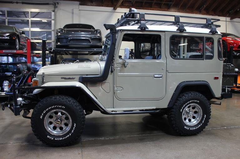 Used 1982 Toyota Land Cruiser for sale $44,995 at San Francisco Sports Cars in San Carlos CA 94070 4