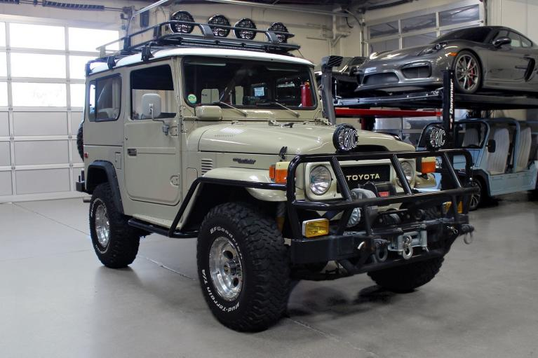 Used 1982 Toyota Land Cruiser for sale $44,995 at San Francisco Sports Cars in San Carlos CA