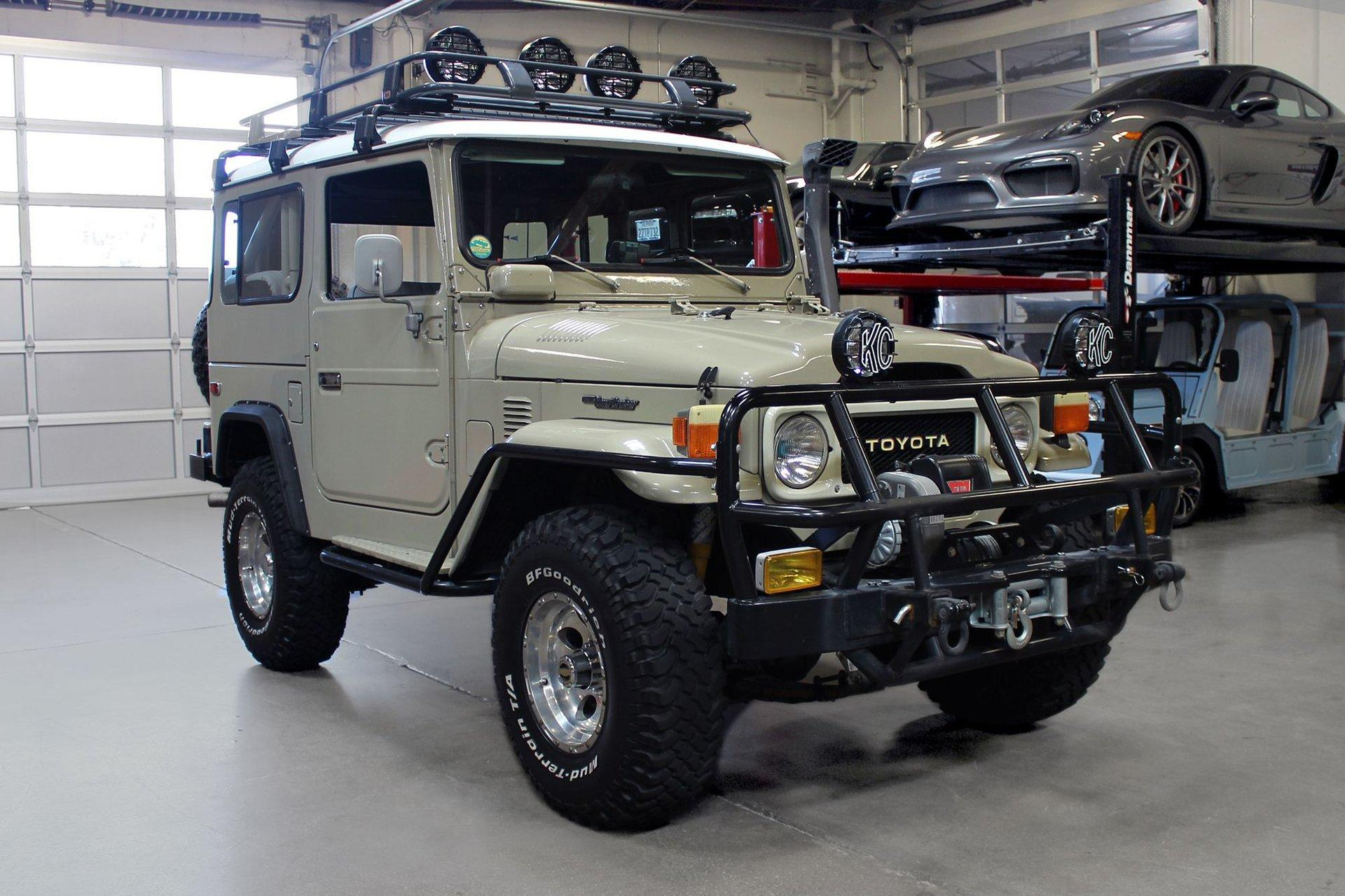 Used 1982 Toyota Land Cruiser for sale $44,995 at San Francisco Sports Cars in San Carlos CA 94070 1