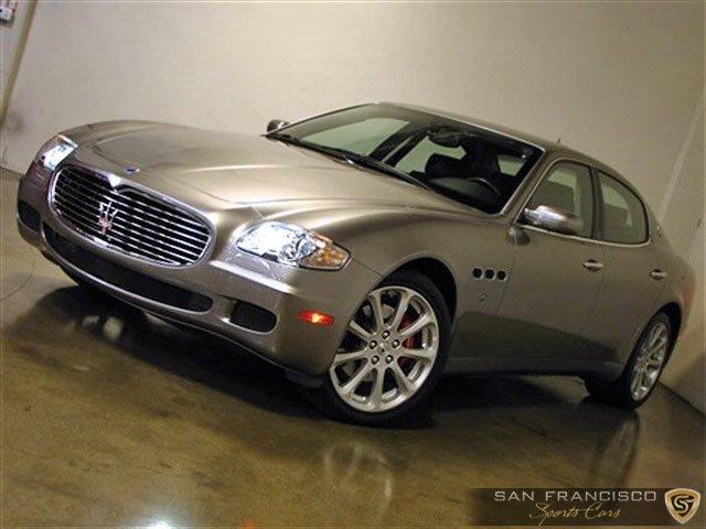 Used 2006 Maserati Quattroporte Sport for sale Sold at San Francisco Sports Cars in San Carlos CA 94070 2