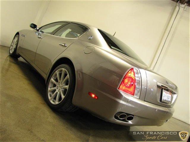Used 2006 Maserati Quattroporte Sport for sale Sold at San Francisco Sports Cars in San Carlos CA 94070 4