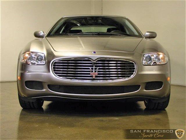 Used 2006 Maserati Quattroporte Sport for sale Sold at San Francisco Sports Cars in San Carlos CA 94070 1