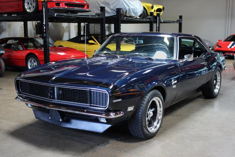 Used 1968 Chevrolet Camaro for sale Sold at San Francisco Sports Cars in San Carlos CA 94070 3