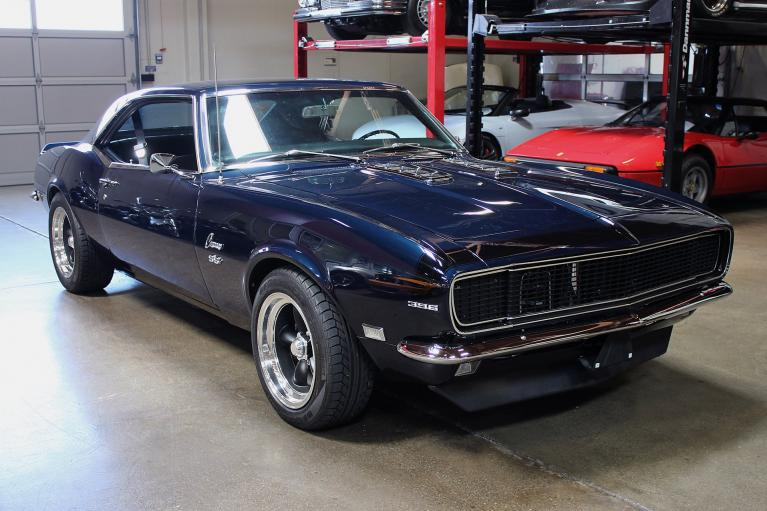 Used 1968 Chevrolet Camaro for sale Sold at San Francisco Sports Cars in San Carlos CA 94070 1