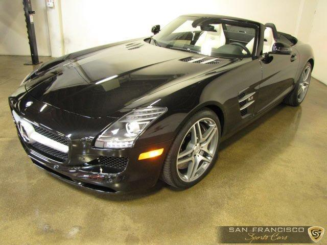Used 2012 Mercedes-Benz SLS AMG Roadster for sale Sold at San Francisco Sports Cars in San Carlos CA 94070 2