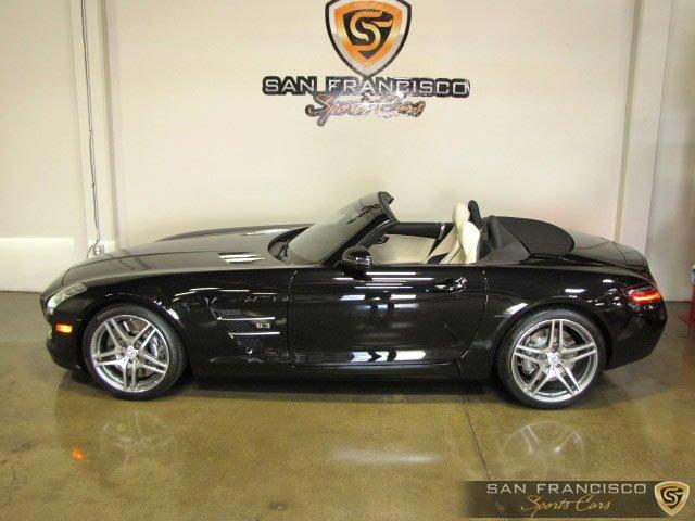 Used 2012 Mercedes-Benz SLS AMG Roadster for sale Sold at San Francisco Sports Cars in San Carlos CA 94070 3