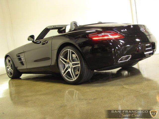 Used 2012 Mercedes-Benz SLS AMG Roadster for sale Sold at San Francisco Sports Cars in San Carlos CA 94070 4