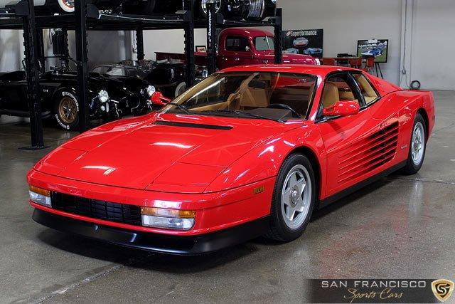 Used 1987 Ferrari Testarossa for sale Sold at San Francisco Sports Cars in San Carlos CA 94070 2