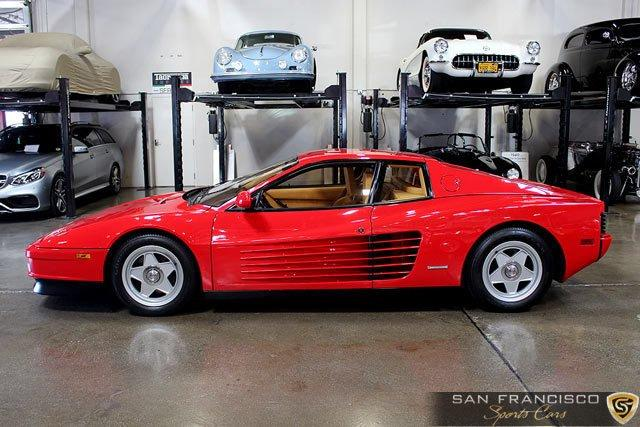 Used 1987 Ferrari Testarossa for sale Sold at San Francisco Sports Cars in San Carlos CA 94070 3