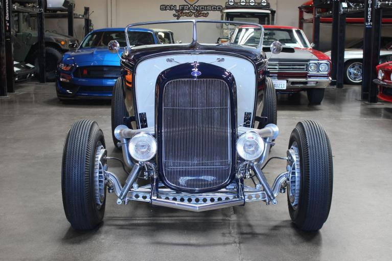 Used 1932 Ford Roadster for sale $99,995 at San Francisco Sports Cars in San Carlos CA 94070 2