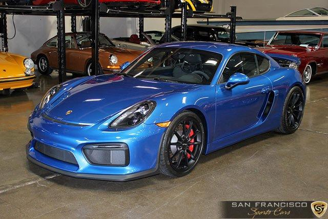 Used 2016 Porsche Cayman GT4 for sale Sold at San Francisco Sports Cars in San Carlos CA 94070 2