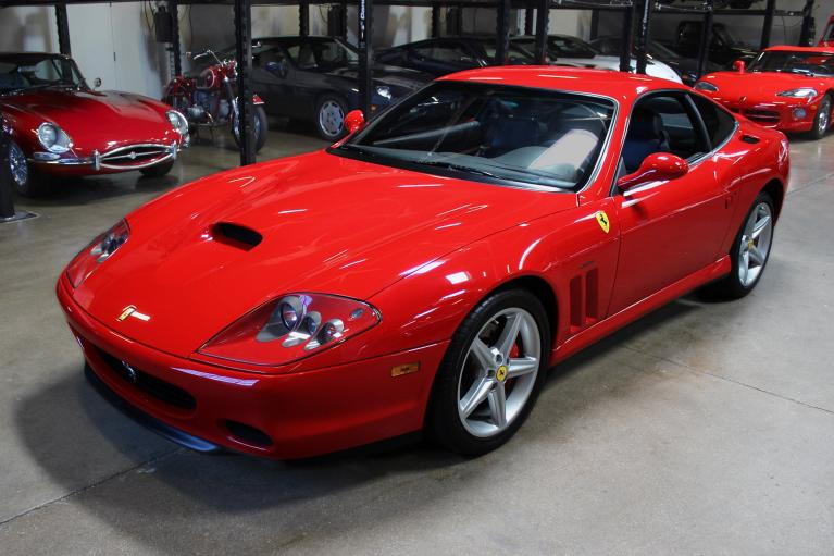 Used 2003 Ferrari 575M Maranello for sale Sold at San Francisco Sports Cars in San Carlos CA 94070 3