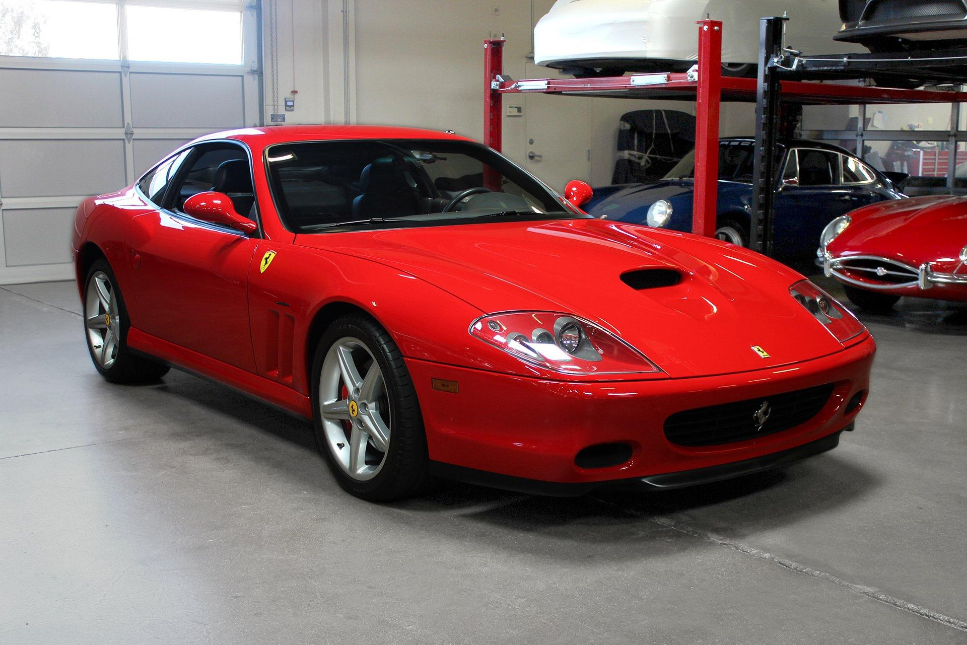 Used 2003 Ferrari 575M Maranello for sale Sold at San Francisco Sports Cars in San Carlos CA 94070 1