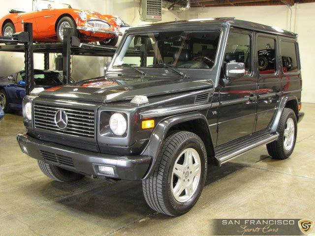 Used 2003 Mercedes-Benz G500 for sale Sold at San Francisco Sports Cars in San Carlos CA 94070 2