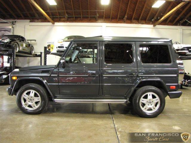 Used 2003 Mercedes-Benz G500 for sale Sold at San Francisco Sports Cars in San Carlos CA 94070 3
