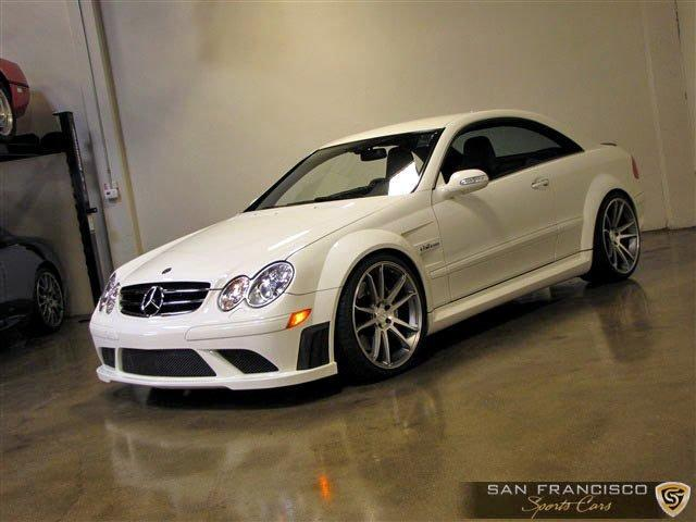 Used 2008 Mercedes-Benz CLK 63 AMG Black Series for sale Sold at San Francisco Sports Cars in San Carlos CA 94070 2