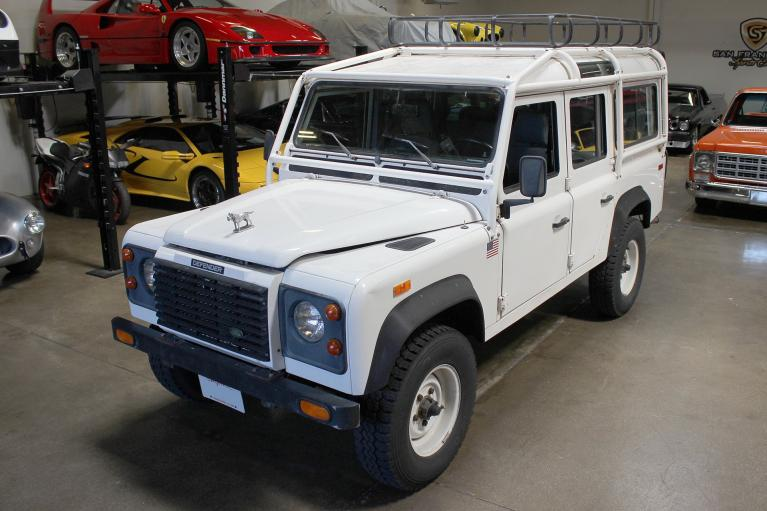 Used 1993 Land Rover Defender 110 for sale Sold at San Francisco Sports Cars in San Carlos CA 94070 3