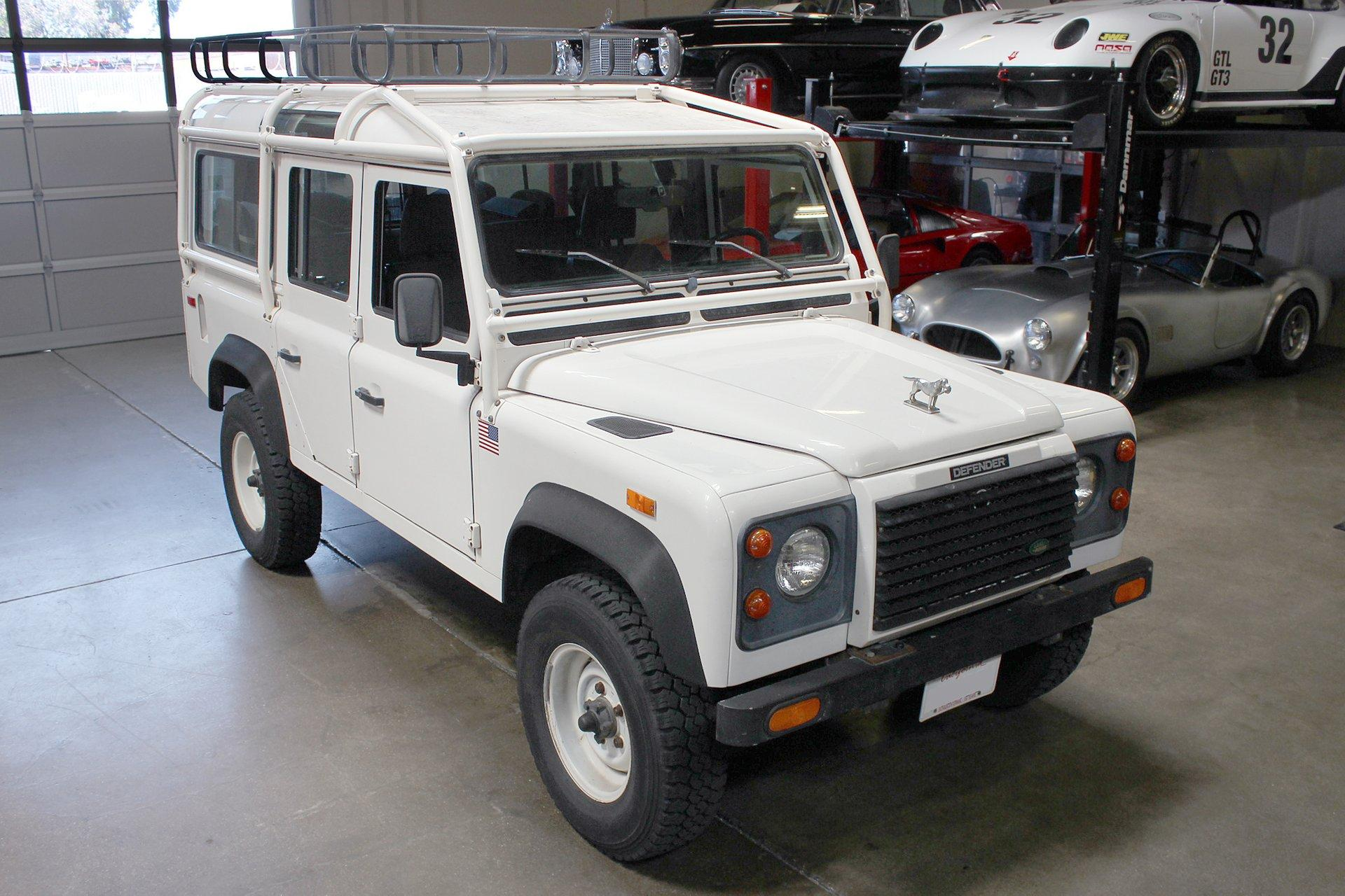 Used 1993 Land Rover Defender 110 for sale Sold at San Francisco Sports Cars in San Carlos CA 94070 1