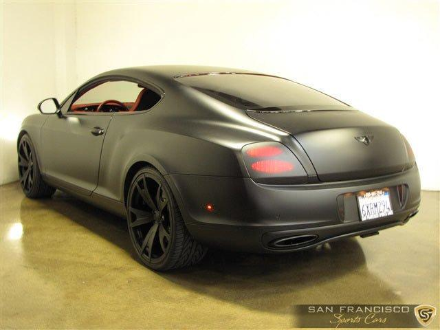 Used 2010 Bentley Continental GT Supersports for sale Sold at San Francisco Sports Cars in San Carlos CA 94070 4