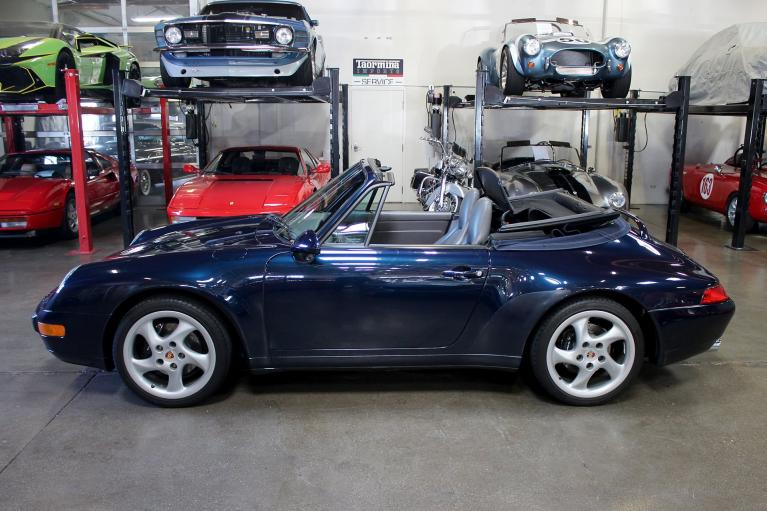 Used 1997 Porsche 911 Carrera Cabriolet for sale Sold at San Francisco Sports Cars in San Carlos CA 94070 4