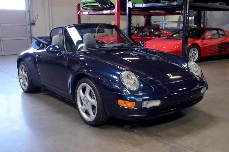 Used 1997 Porsche 911 Carrera Cabriolet for sale Sold at San Francisco Sports Cars in San Carlos CA 94070 1