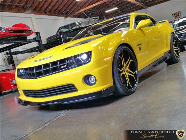 Used 2012 Chevrolet Camaro SS Bumblebee for sale Sold at San Francisco Sports Cars in San Carlos CA 94070 2