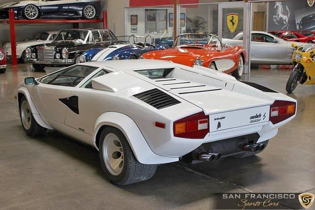 Used 1984 Lamborghini Countach 5000S for sale Sold at San Francisco Sports Cars in San Carlos CA 94070 3