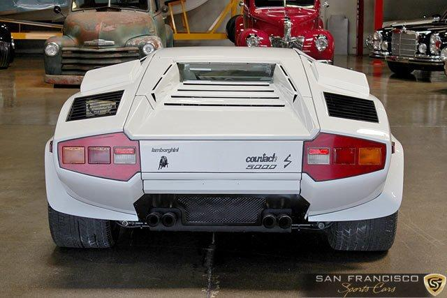 Used 1984 Lamborghini Countach 5000S for sale Sold at San Francisco Sports Cars in San Carlos CA 94070 4