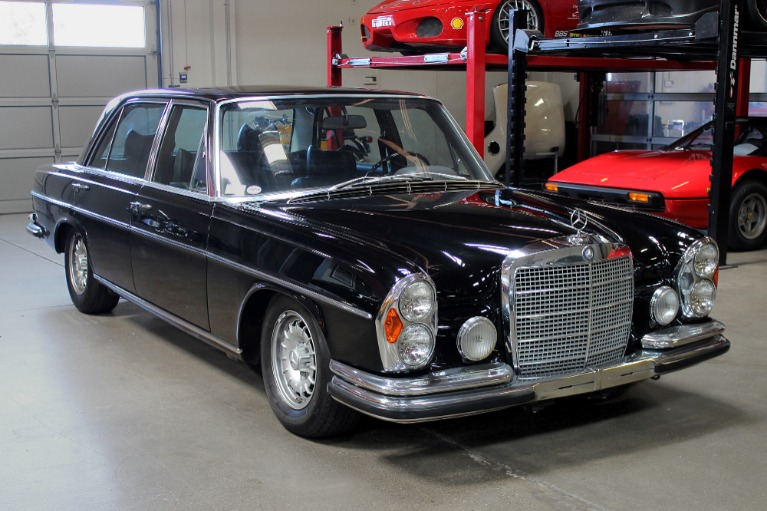 Used 1972 Mercedes-Benz 300 SEL 6.3 for sale $369,995 at San Francisco Sports Cars in San Carlos CA