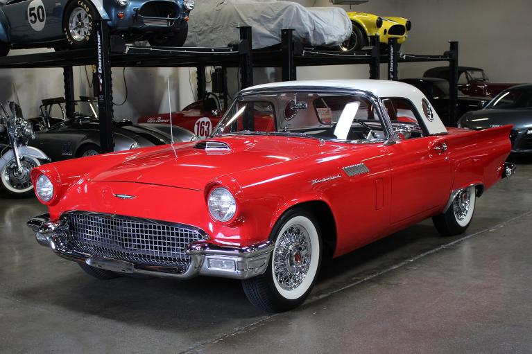 Used 1957 Ford Thunderbird for sale Sold at San Francisco Sports Cars in San Carlos CA 94070 3