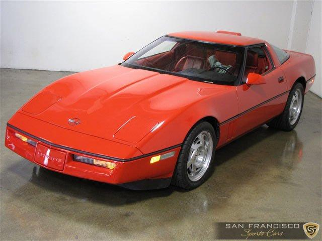 Used 1990 Chevy Corvette ZR1 for sale Sold at San Francisco Sports Cars in San Carlos CA 94070 2